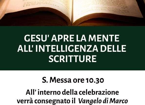 I Domenica della Parola di Dio – 26 gennaio 2020